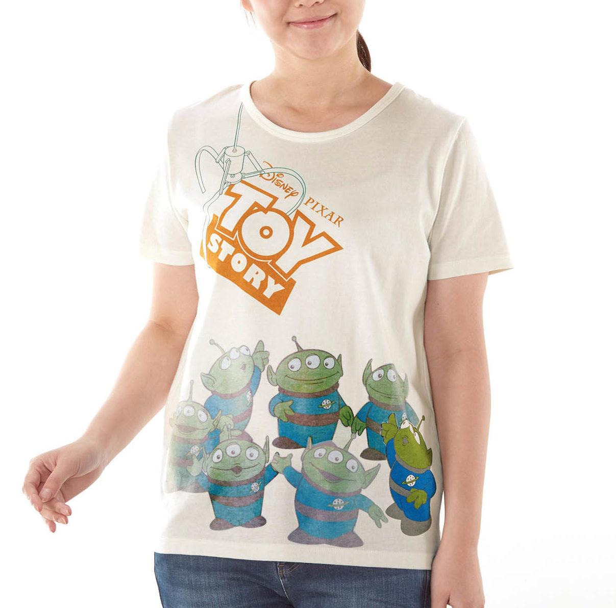 エイリアン|ベルメゾン ディズニーデザイン「太陽で色が変わるTシャツ」