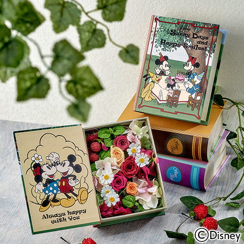 日比谷花壇 フラワーブック ミッキーミニー