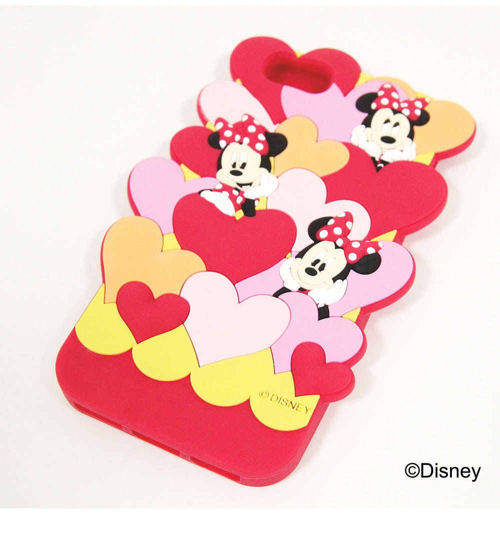 tocco closet ディズニーコレクション「iPhoneケース~Fall in LOVE~Minnie Mouse ver」レッド