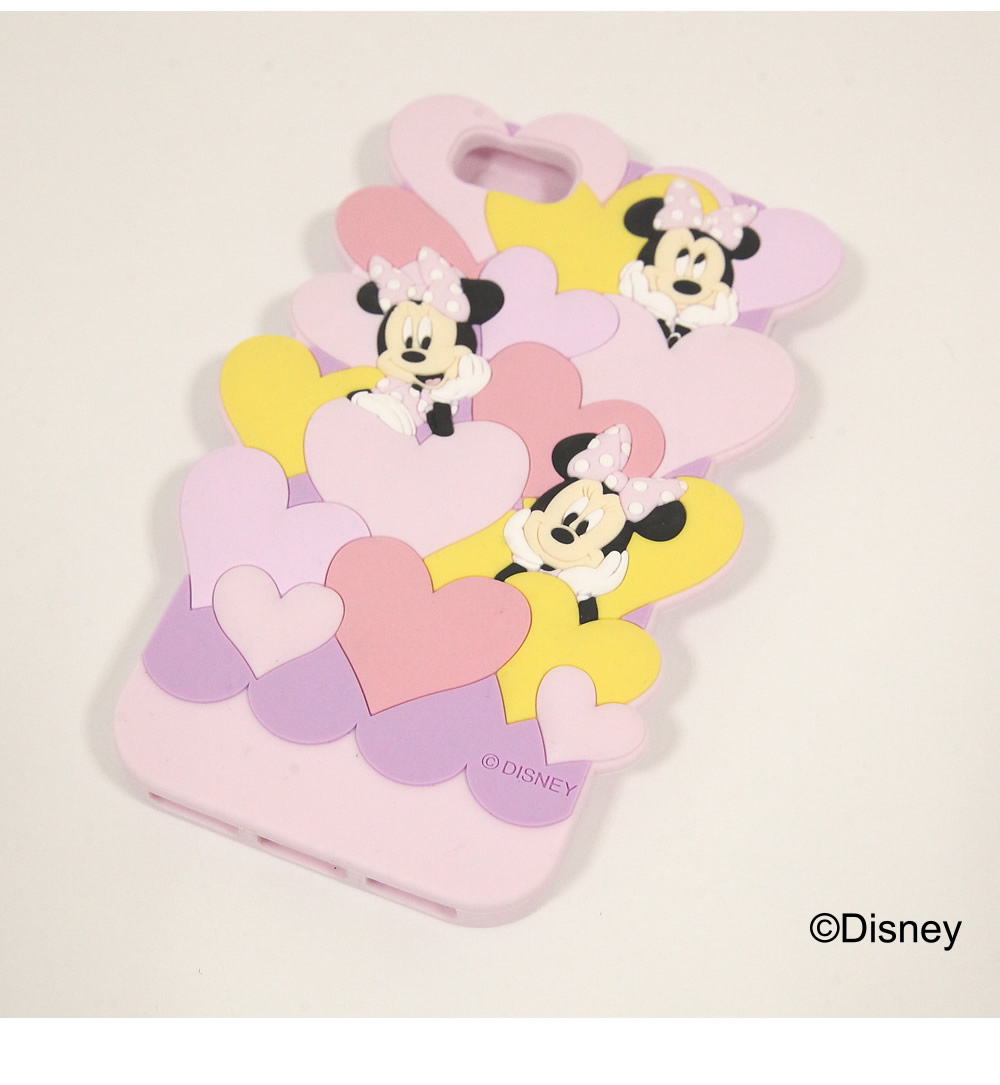tocco closet ディズニーコレクション「iPhoneケース~Fall in LOVE~Minnie Mouse ver」ピンク