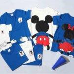 ベルメゾン ディズニーデザイン「みんなでつながるサッカー応援ディズニーTシャツ」イメージ
