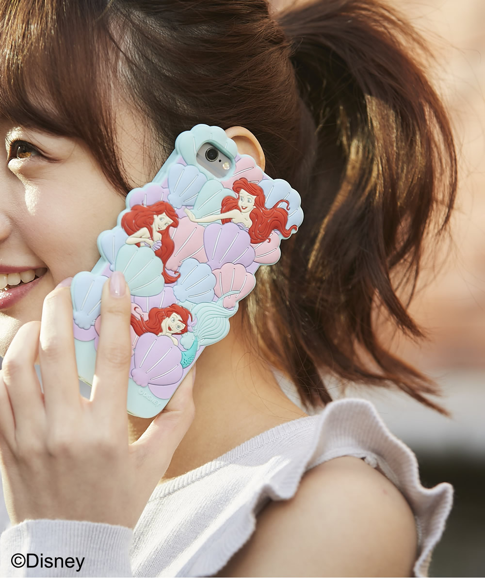 tocco closet ディズニーコレクション「iPhoneケース~In the shell~The little MERMAID ver」使用例