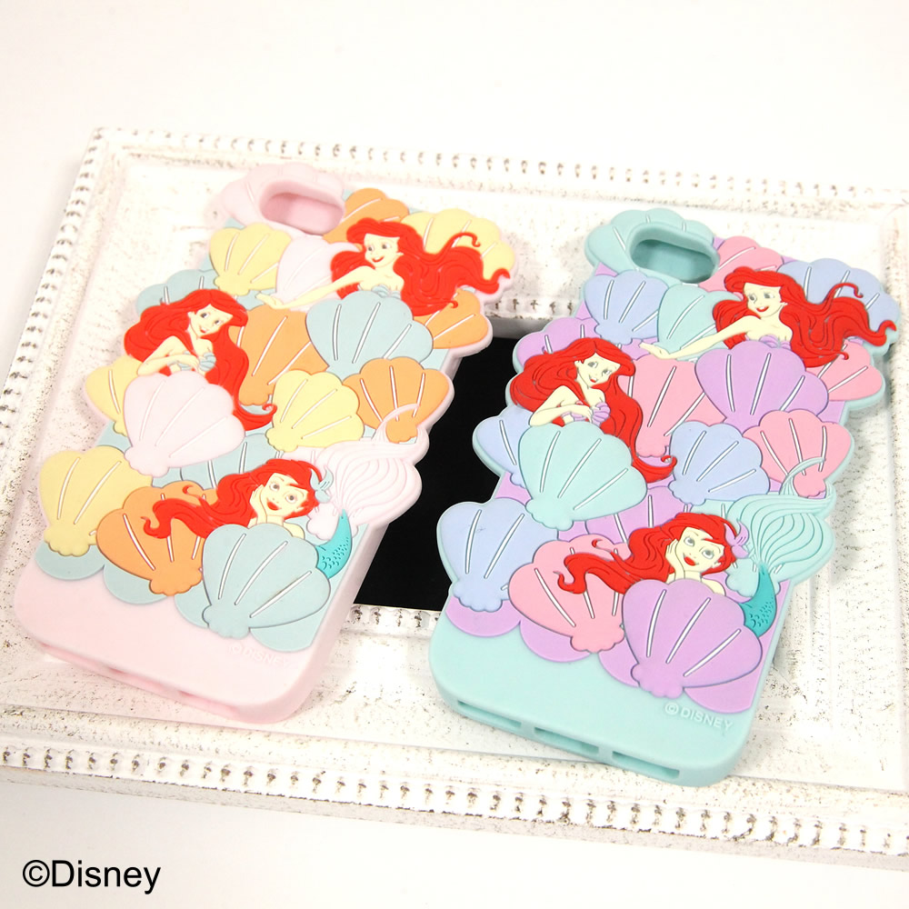tocco closet ディズニーコレクション「iPhoneケース~In the shell~The little MERMAID ver」