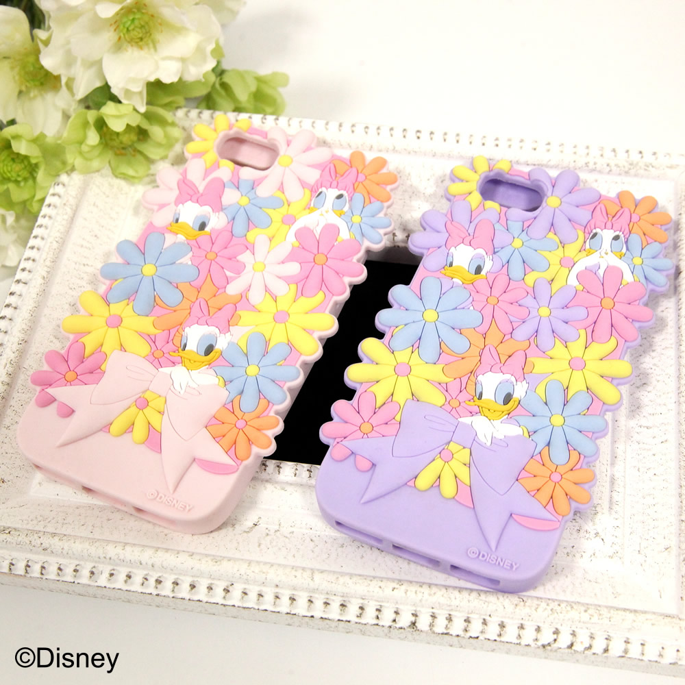 tocco closet ディズニーコレクション「iPhoneケース~Surrounded by Flowers~Daisy Duck ver」
