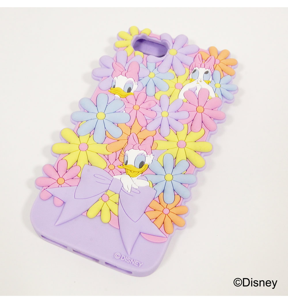 tocco closet ディズニーコレクション「iPhoneケース~Surrounded by Flowers~Daisy Duck ver」ラベンダー