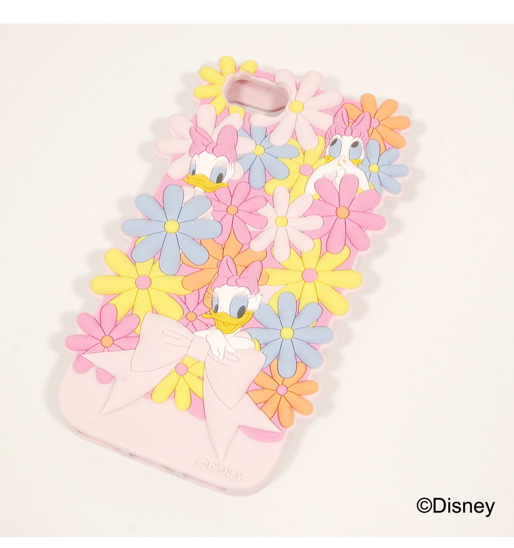 tocco closet ディズニーコレクション「iPhoneケース~Surrounded by Flowers~Daisy Duck ver」ピンク