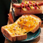 厚切りトースト ツナチェダーチーズメルト