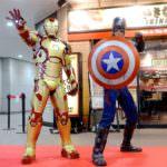 キャプテン・アメリカ、アイアンマン