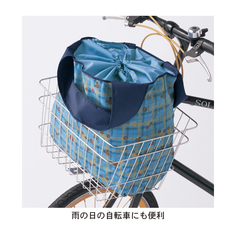 バッグにカバーバッグ 自転車にも