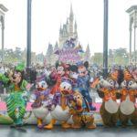 """東京ディズニーリゾート35周年""""HappiestCelebration!""""記念セレモニー"""