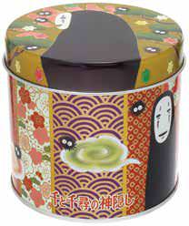 千と千尋の神隠し ルピシア茶葉缶  緑茶 和文様