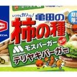 182g 亀田の柿の種 テリヤキバーガー風味 6袋詰