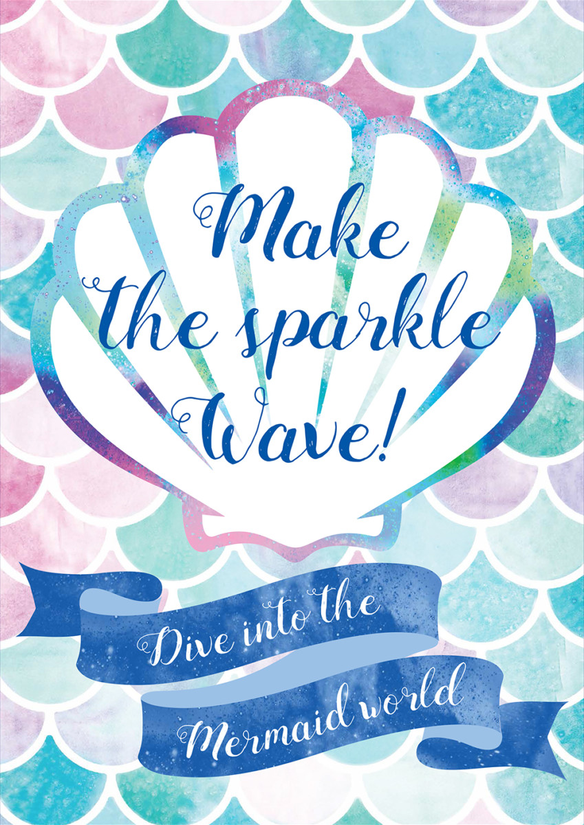 「Make the sparkle Wave! - Dive into the Mermaid world -」