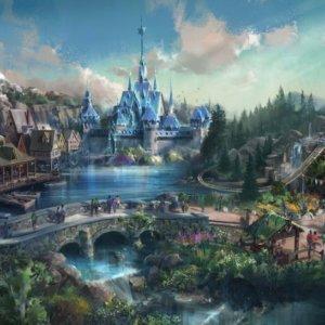 香港ディズニーランド 新エリア『アナと雪の女王』