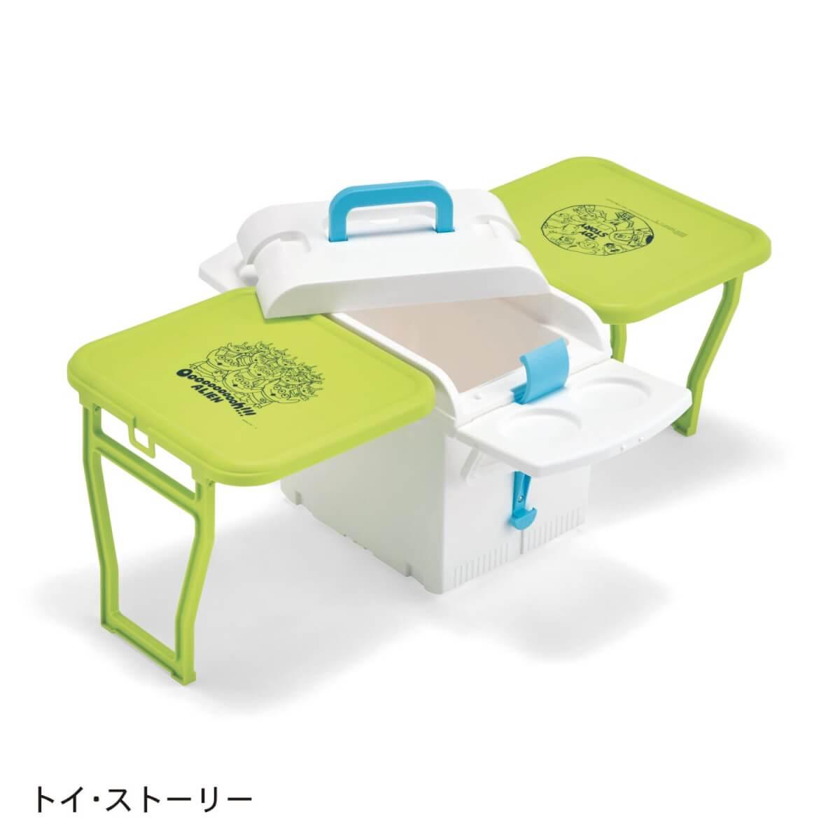 クーラーボックス付き折りたたみテーブル トイ・ストーリー