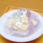 ポップブルーソーダ|ココス「純氷ふわふわかき氷」