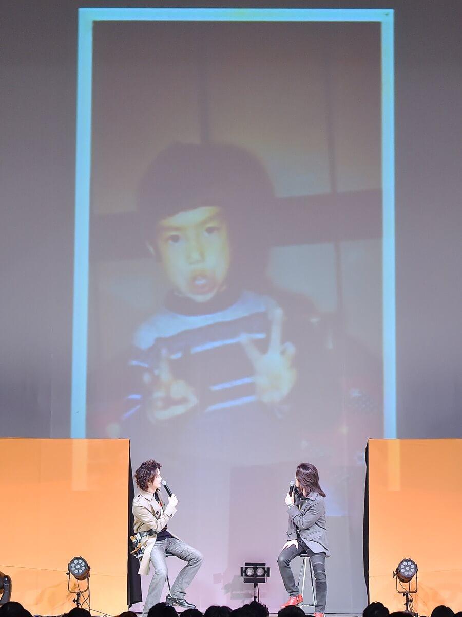 「仮面ライダー555×ハローキティ」村上さんの写真