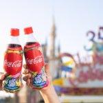 東京ディズニーリゾート「コカ・コーラ 35周年限定デザインボトル」