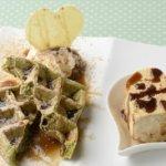 ラブリーアイスクリーム 「静岡抹茶パンケーキワッフル&きなこもち(アイス)」