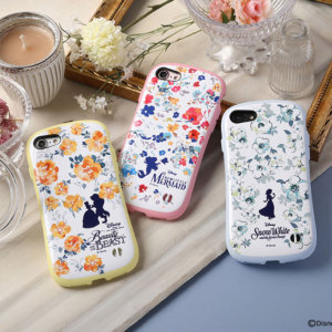 iFace First Class Pastelケース(フラワーデザイン)2