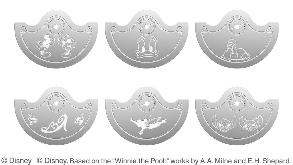 ローター(裏側)のディズニーキャラクターデザインサンプル