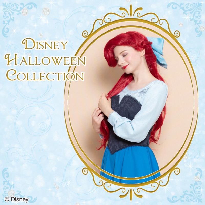 シークレットハニー Disney Halloween Collection 2018「Kiss the Girl Dress (The Little Mermaid)」
