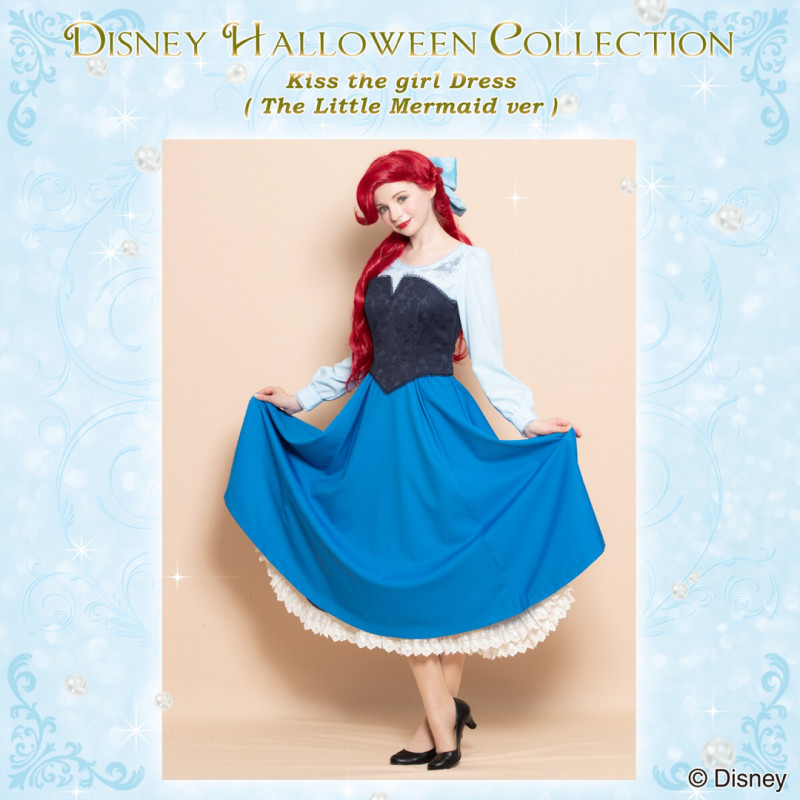 シークレットハニー Disney Halloween Collection 2018「Kiss the Girl Dress (The Little Mermaid)」2