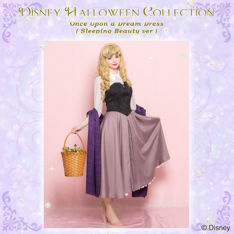 シークレットハニー Disney Halloween Collection 2018「Once Upon A Dream Dress (Sleeping Beauty)」2