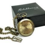 懐中時計と専用ボックス
