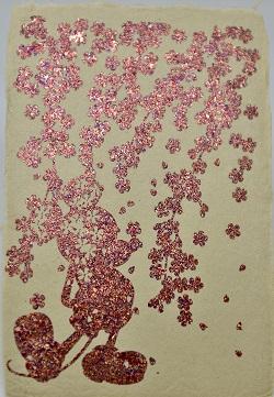 箔飾和紙カード