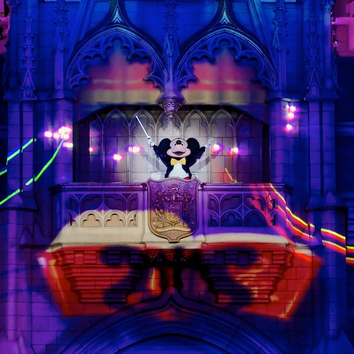 東京ディズニーランド ナイトタイムスペクタキュラー「Celebrate! Tokyo Disneyland」