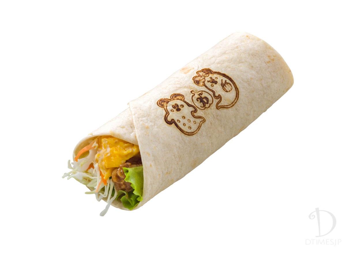 ラップサンド(焼肉&エッグ)2