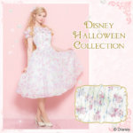 シークレットハニー Disney Halloween Collection 2018「Park Date Dress(Disney Princess ver. )」