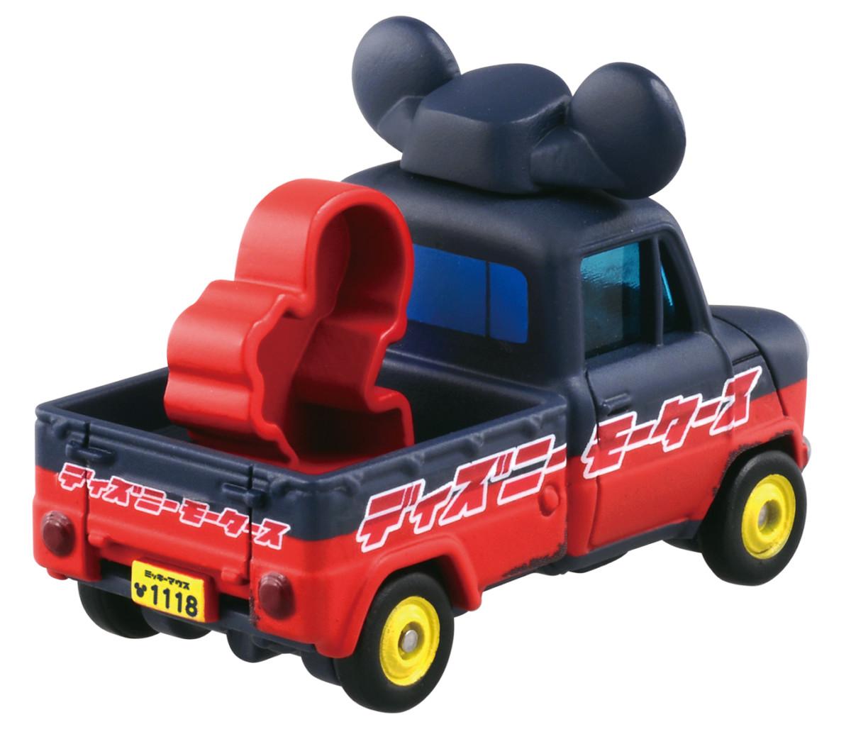 ディズニーモータース DM-02 ソラッタ ミッキーマウス バックスタイル