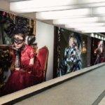 ユニバーサル・スタジオ・ジャパン「ユニバーサル・サプライズ・ハロウィーン」巨大ビジュアル広告