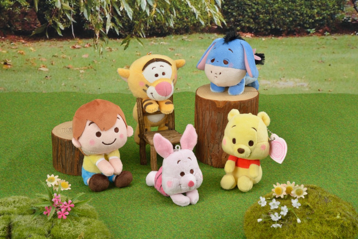 WINNIE THE POOH & you キーチェーンマスコット_01