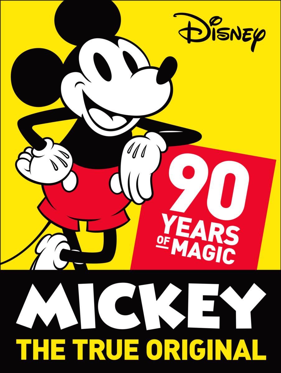 スクリーンデビュー90周年記念!ディズニーキャラクター「ミッキーマウス