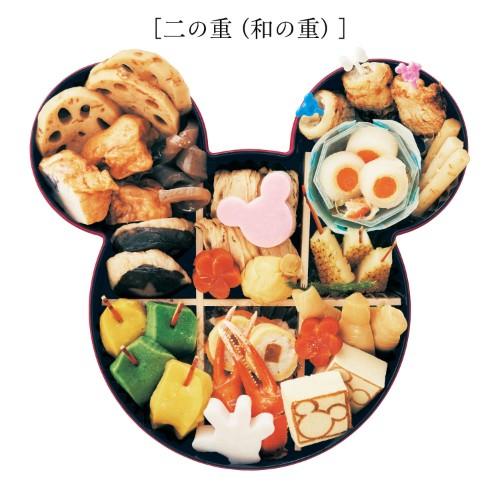 おせち・三段重<ミッキーマウス> 二の重