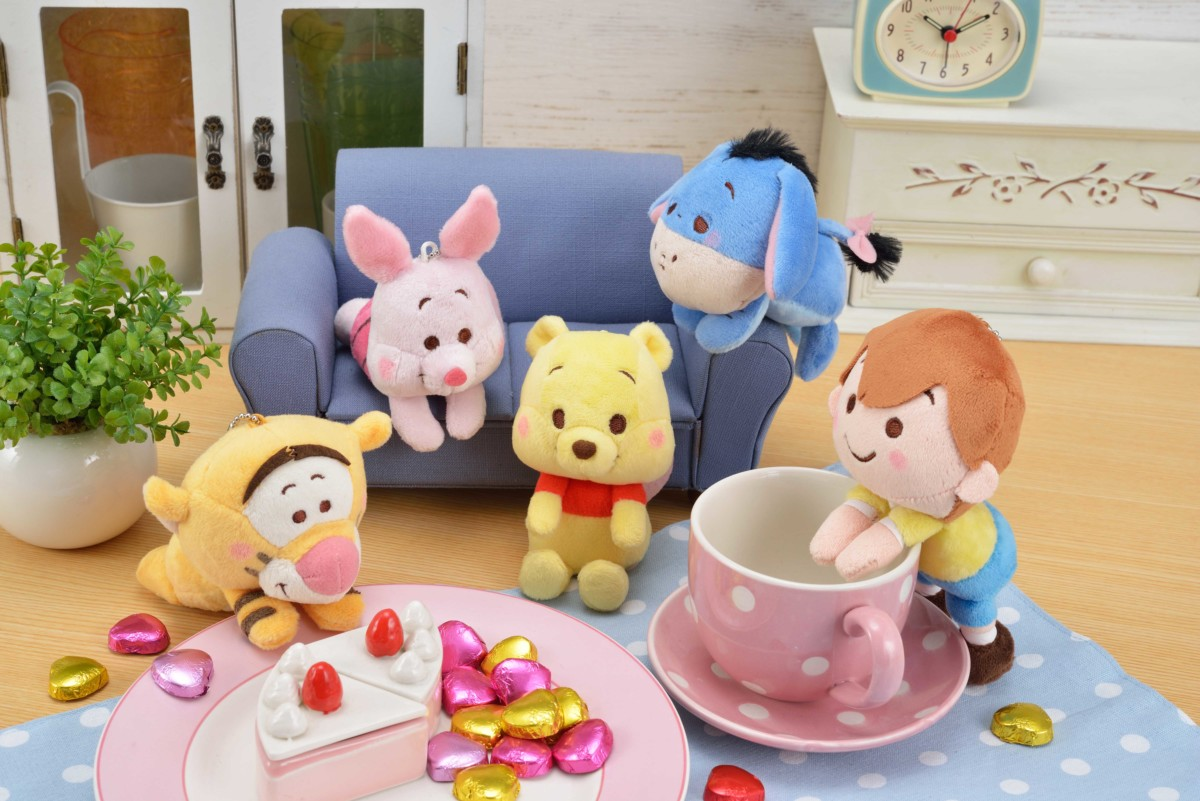 WINNIE THE POOH & you キーチェーンマスコット_02