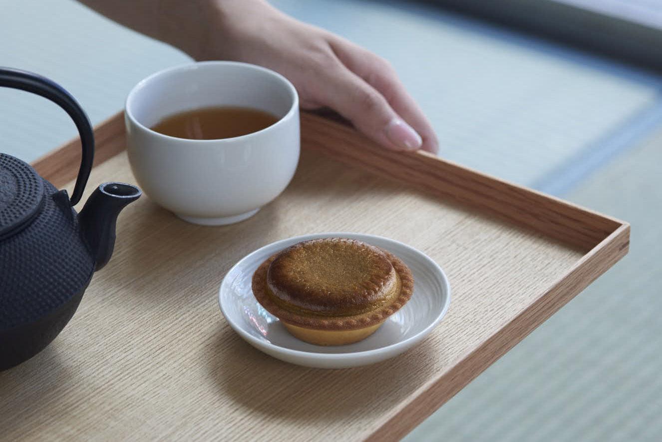 BAKE CHEESE TART「加賀棒茶チーズタルト ほうじたて」