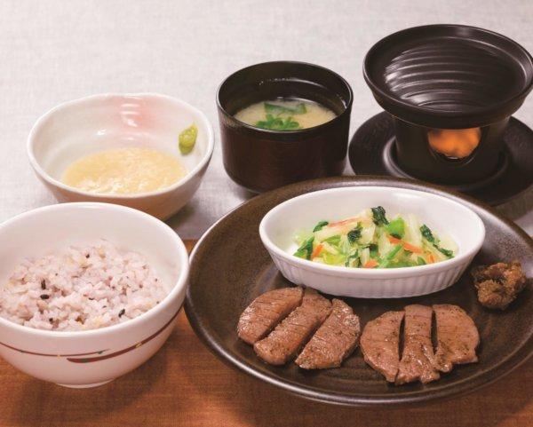 1. 牛たん焼き定食