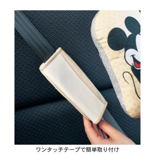 シートベルト用クッション ワンタッチテープ