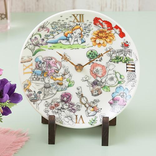 ふしぎの国のアリスの陶時計4
