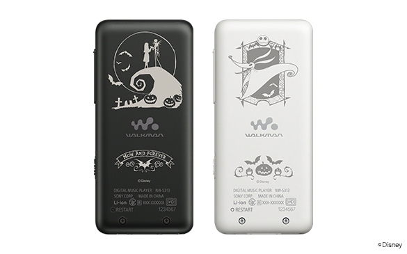 ウォークマン®SシリーズWALKMAN® / Tim Burton's The Nightmare Before Christmas Special Collection