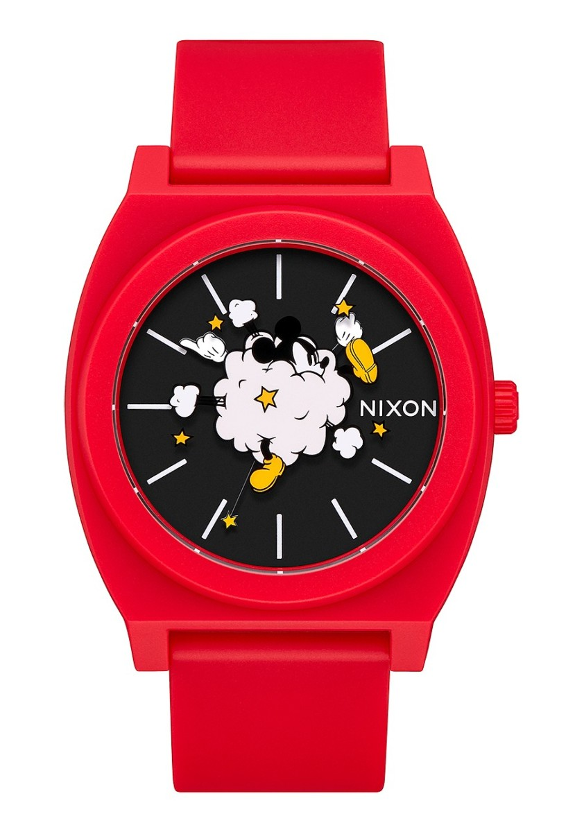 THE TIME TELLER P NA1193098-00 RED/BLACK/FIGHT CLOUD