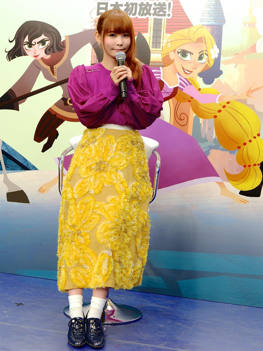 ディズニー・チャンネル15周年記念「ラプンツェル ザ・シリーズ」全国プロモーション出陣式5