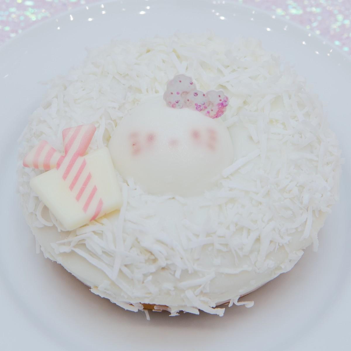 ハローキティのホワイトリース♡ドーナツ
