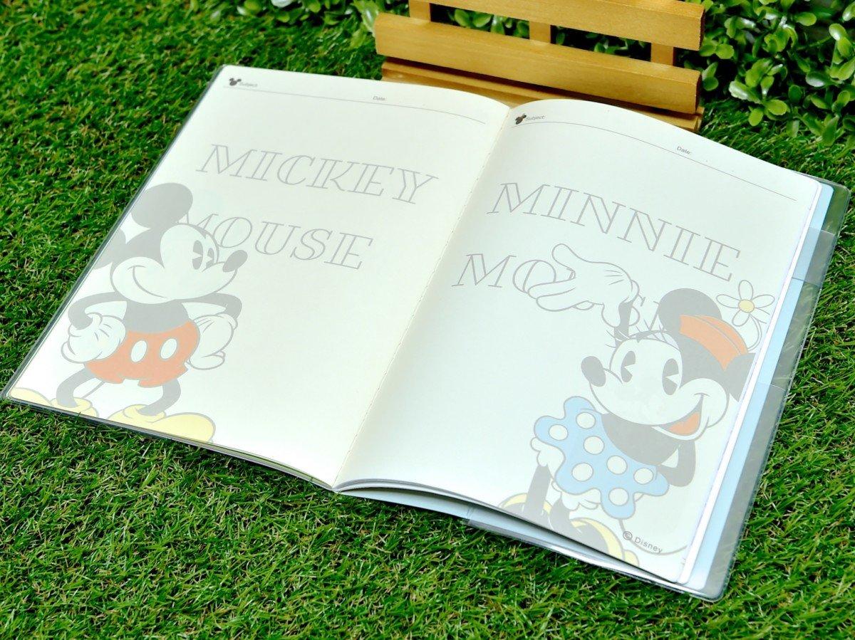 ダイゴー『ミッキー&ミニー』キャッシュブック付きA5ダイアリーフリースペース