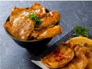 サンルートプラザ東京「北海道の恵み 和食バイキング」豚丼