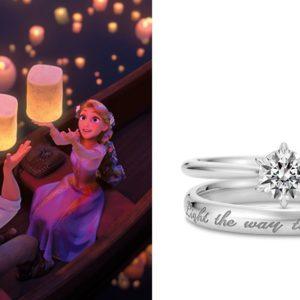 "K.UNO ""Disney Princess Stories 指輪 ラプンツェル"